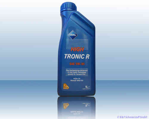 Aral High Tronic R 5W-30 1 Liter Dose ACEA C4