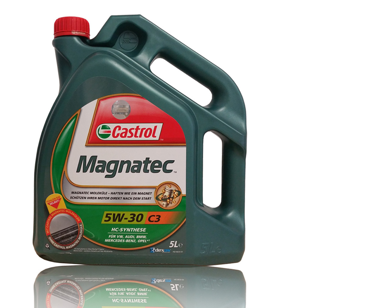 castrol magnatec 5w 30 c3 5 liter kanne b f schmierstoff. Black Bedroom Furniture Sets. Home Design Ideas