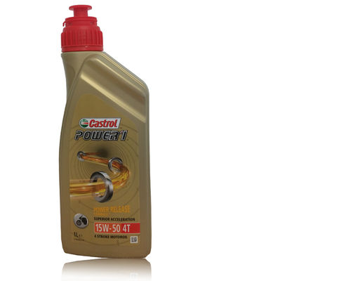 Castrol Power Racing 4T 10W50 1 Liter Dose
