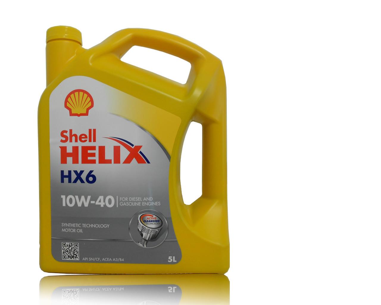 shell helix hx6 10w 40 5l b f schmierstoff gmbh. Black Bedroom Furniture Sets. Home Design Ideas