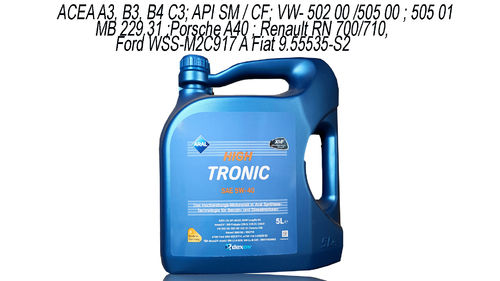 Aral High Tronic 5W-40 5 Liter