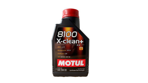 MOTUL 8100 X-CLEAN+ 5W-30 BMW LL04 MB 229.51 VW 50400 VW 50700